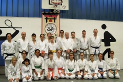 Karateprueflinge Shotokan Karate Dojo Dortmund