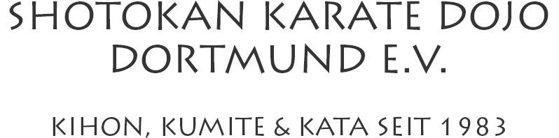 Shotokan Karate Dojo Dortmund e.V.